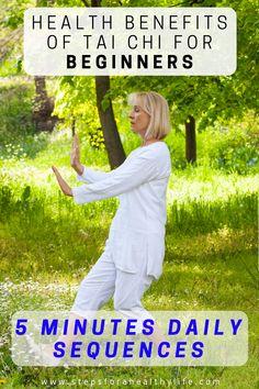 Senior Fitness, Yoga Fitness, Tai Chi For Beginners, Benefits Of Tai Chi, Tai Chi Movements, Tai Chi Moves, Learn Tai Chi, Tai Chi Exercise, Yoga Exercises