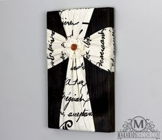 Wall cross.decorative wall cross.unique wall by MakariosDecor