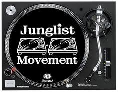 A.S. Junglist Movement SlipMats (pair)