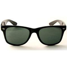 a21db2b988 QLook Blues Brothers Wayfarer Style Sunglasses - Matte Flat Black QLook.   7.99