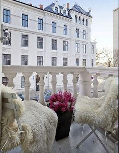 sheepskins make everything pretty