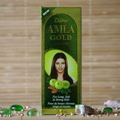 Olejek do włosów Amla Gold Dabur 200ml.  Nowa, ulepszona formuła olejku Amla Dabur, oprócz wyciągu z amli zawiera dwa nowe składniki odżywcze: migdały i hennę. Olejek Amla Gold jest gwarancją długich i mocnych włosów.