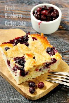 Fresh Blueberry Coffee Cake recipe is my favorite dessert!