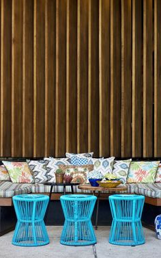 Bursting With Color and Natural Energy: Lemongrass Restaurant in  Indonesia - http://freshome.com/bursting-with-color-and-natural-energy-lemongrass-restaurant-indonesia/