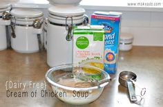 make.a.do: Dairy Free Cream of Chicken Soup