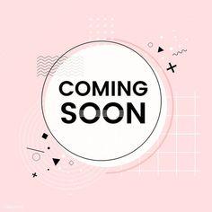 free vector of Coming soon shop announcement vector 511987 - Coming soon shop announcement vector Fond Design, Web Design, Logo Online Shop, Restaurant Logo, Instagram Highlight Icons, Advertising Design, Cute Wallpapers, Announcement, Vector Free
