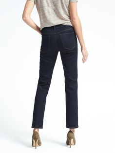 Banana Republic Slim Straight jeans in 29 long. These are my favorite jeans & I'd love to have another pair!