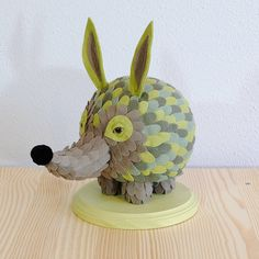 Pufferhedge  small by horribleadorables on Etsy, $175.00