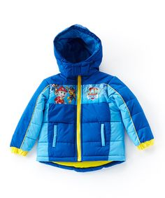 Loving this Paw Patrol Puffer Coat - Toddler & Boys on #zulily! #zulilyfinds