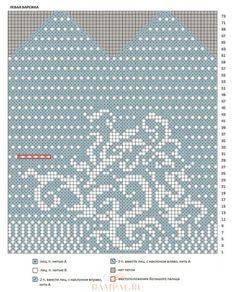 Коллекция жаккардовых варежек спицами. Часть 1. Обсуждение на LiveInternet - Российский Сервис Онлайн-Дневников Crochet Motif, Knit Crochet, Fair Isle Knitting, Mitten Gloves, Needlework, Tank Man, Cross Stitch, Charts, Mens Tops