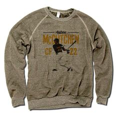 Andrew McCutchen MLBPA Officially Licensed Pittsburgh Crew Sweatshirt S-2XL Andrew McCutchen Position Y