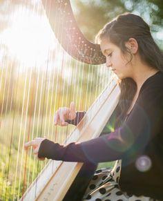 I finally got a harp photoshoot! I love it!!