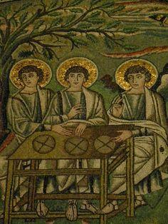 Mosaics Basilica Di San Vitale Ravenna Italy
