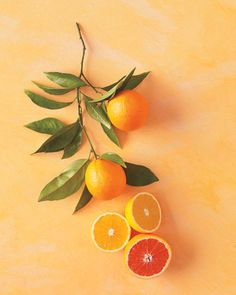 "Orange Basics & Recipes... ""In Season: Oranges are at their peak between December and April."""