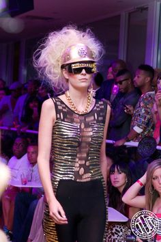 Makeup/Hair: Nicole Elle Rogers  Fashion Week  Designer: Stevie Boi