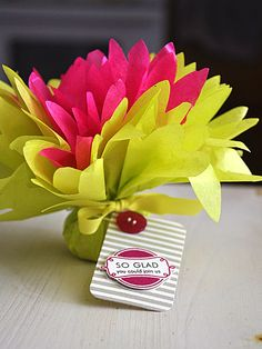 Tissue Paper Favor Wrap by Maile Belles for Papertrey Ink (September 2012)