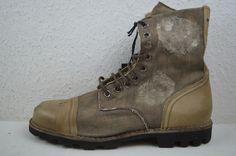 Diesel schuhe boots boot stiefel Beige hardkor stell Gr.43 UVP. 320€ | eBay