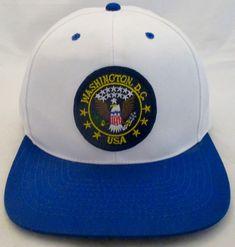 f010c9b0937 Cap Washington D C Trucker Hat Snapback Mesh City Patch Vintage  Unbranded   BaseballCap Vintage Trucker