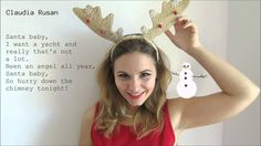 Claudia Rusan - Santa Baby (Kyle Minogue COVER)