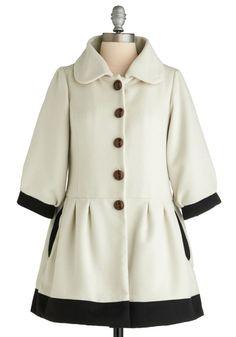 On the Avenue Coat | Mod Retro Vintage Coats | ModCloth.com - StyleSays