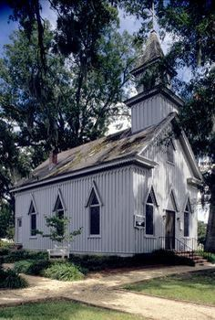 Church In North Carolina Built In 1885