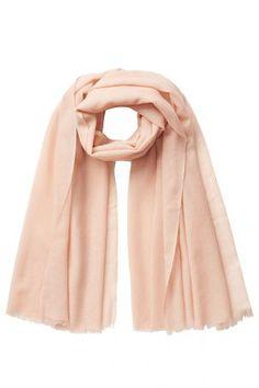 Closed Closed Schal aus Wolle und Seide – Rosa