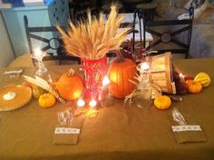 Fall Cornucopia Thanksgiving Centerpiece Thanksgiving