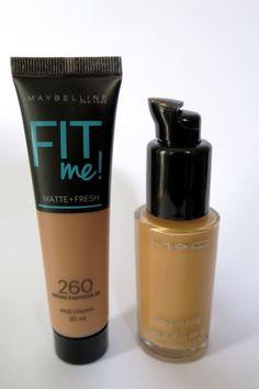 Base Fit Me! Cor 260 Médio Particular (Pele Negra) | Maybelline | Blog Beleza de Creuza! | Amanda Ercília