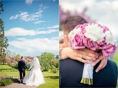 Mariam + Rashad   Wedding   Ornamental Gardens & Intercultural Dialogue Institute   Ottawa Wedding Photographer – Photography by Emma White Gowns, White Dress, Muslim Brides, Spring Day, Bridal Portraits, Ottawa, Veil, Reception, Gardens