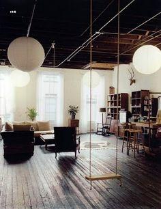 Yes.  Every loft needs a swing.  I need a loft.