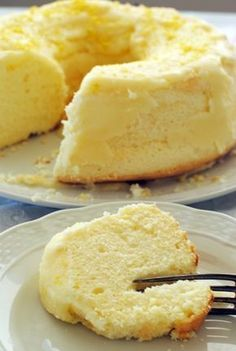 chiffon cake sin tacc pic