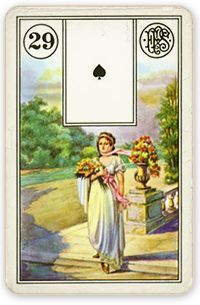 These Lenormand Woman card combinations are designed to help you learn how to read the petit Lenormand and how to combine the Woman. Tarot Gratis, Custom Decks, Fortune Teller, Tarot Cards, Draw, Painting, Image, Numerology, Definitions