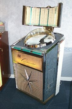 AMI Continental Space Age Jukebox. #jukebox #vintageaudio #music http://www.pinterest.com/TheHitman14/ghosts-of-audios-past/