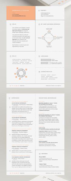 Resume // 2015 on Behance
