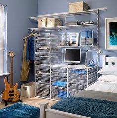Gallery - Elfa Bedroom Storage, Gallery, Closet, Home Decor, Armoire, Decoration Home, Roof Rack, Room Decor, Closets