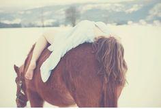 horse dream bareback riding
