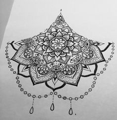 I can't wait to make this sternum piece apart of me!