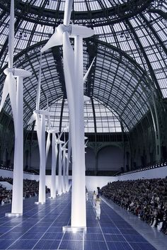 AT CHANEL SS13 / PHOTOGRAPHY BY FILEP MOTWARY