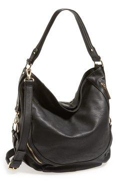 Zip Front Hobo Bag (Juniors)  55763032dbc71