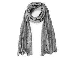 Hektik Streetwear Speckled Scarf | grey - black print #hektik #streetwear #fashion #urban #streetart #graffiti #speckle #scarf #jersey #heather #cotton Street Art, Women, Fashion, Accessories, Moda, Fashion Styles, Fashion Illustrations, Fashion Models