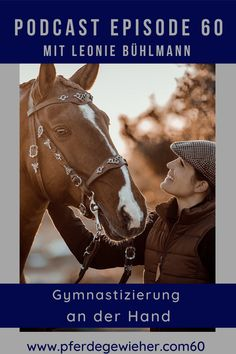 Pferdegewieher Podcast - In dieser Folge unseres Pferdepodcasts erklärt Leonie Bühlmann die Basics der Handarbeit mit dem Pferd. Viele Hilfen und Lektionen lassen sich bereits in der Bodenarbeit mit dem Pferd erarbeiten und eignen sich auch für junge Pferde oder kranke und verletzte Pferde. #pferdegewieher #pferdepodcast #podcastreiten #bodenarbeit #handarbeitpferd #piaffe #passage #spanischerschritt Horse Feed, Social Networks, Horseback Riding, Round Round, Handarbeit