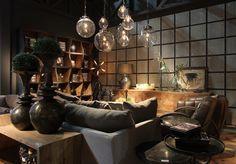 Soggiorno arredamento lusso Dialma Brown atmosfera suggestiva ed elegante.  Prodotti acquistabili su:   http://www.garneroarredamenti.com/dialma-brown.html