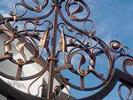 Кованые ворота Премиум класса Fair Grounds, Chandelier, Ceiling Lights, Design, Decor, Candelabra, Decoration, Chandeliers