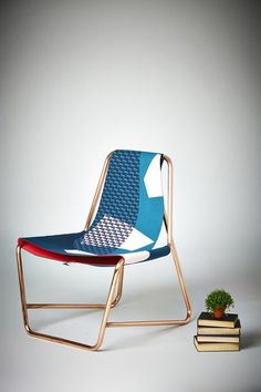 PEERS: LUCY BIRLEY - omigosh. #chair #modern #copper #design #industrial design