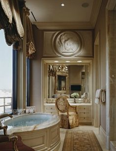 Old World Bathroom Glamour, too small I think, but still nice