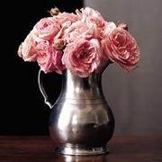 Match Pewter Vases & Garden
