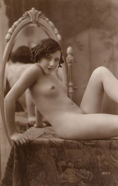intriguing vintage nude