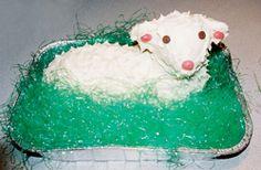 Czech Easter Lamb Cake
