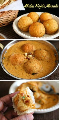 Malai Kofta Masala is a famous North Indian gravy of fried paneer and potato dumplings swimming in a delicious tomato based cream sauce.
