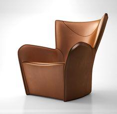 Molteni C Mandrague armchair 2013 leather ...